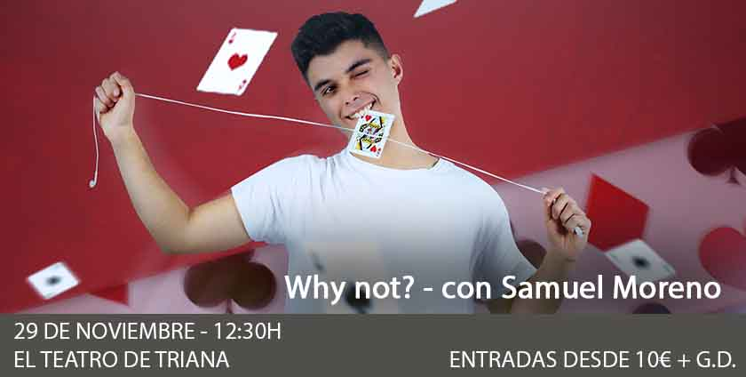 Why not? Con Samuel Moreno