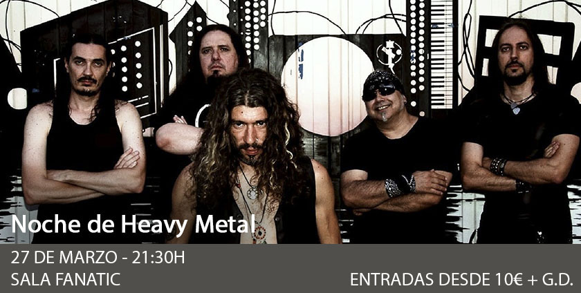 Noche Heavy: Histeria - Norwald - Guarida - Onus Baal